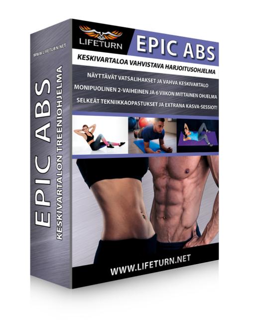 EPIC ABS keskivartalotreeni