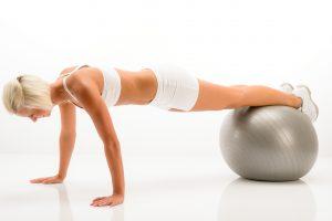 Jumppapallo sopii koko kehon treenaamiseen