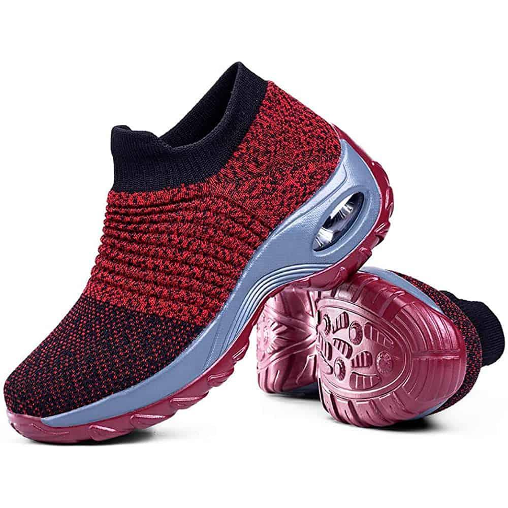 Sairaanhoitajan kengät punainen