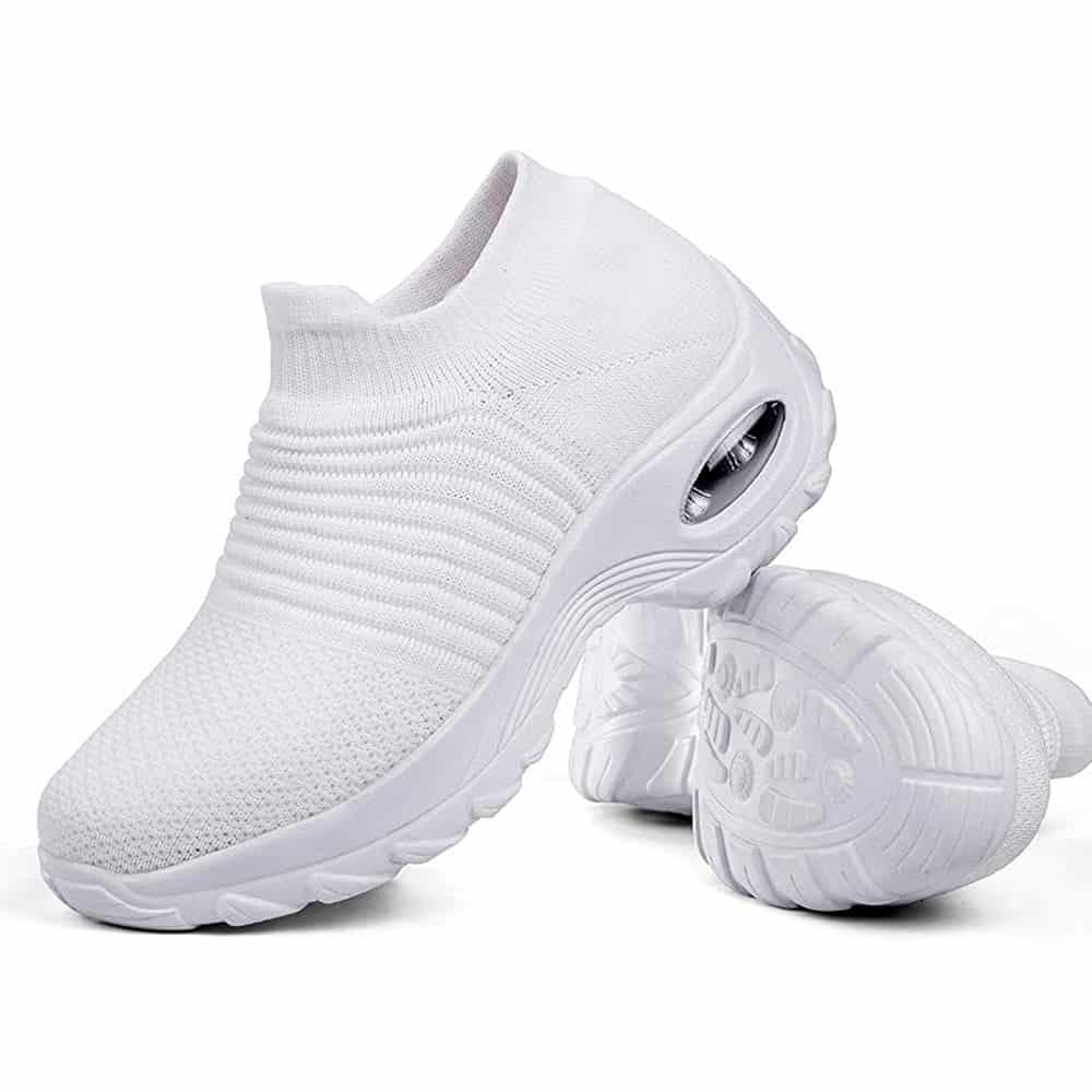 Sairaanhoitajan kengät valkoinen