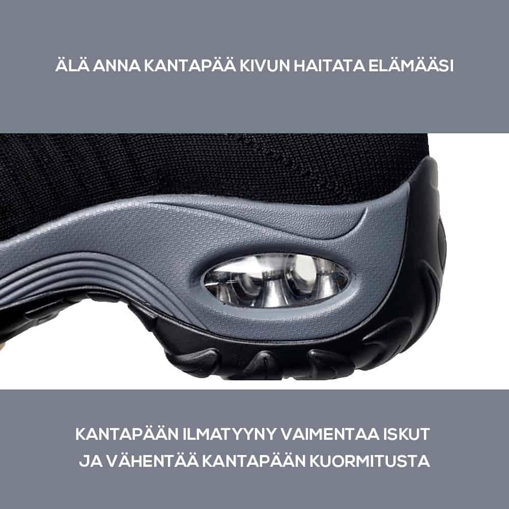 Sairaanhoitajan kenkien ilmatyyny