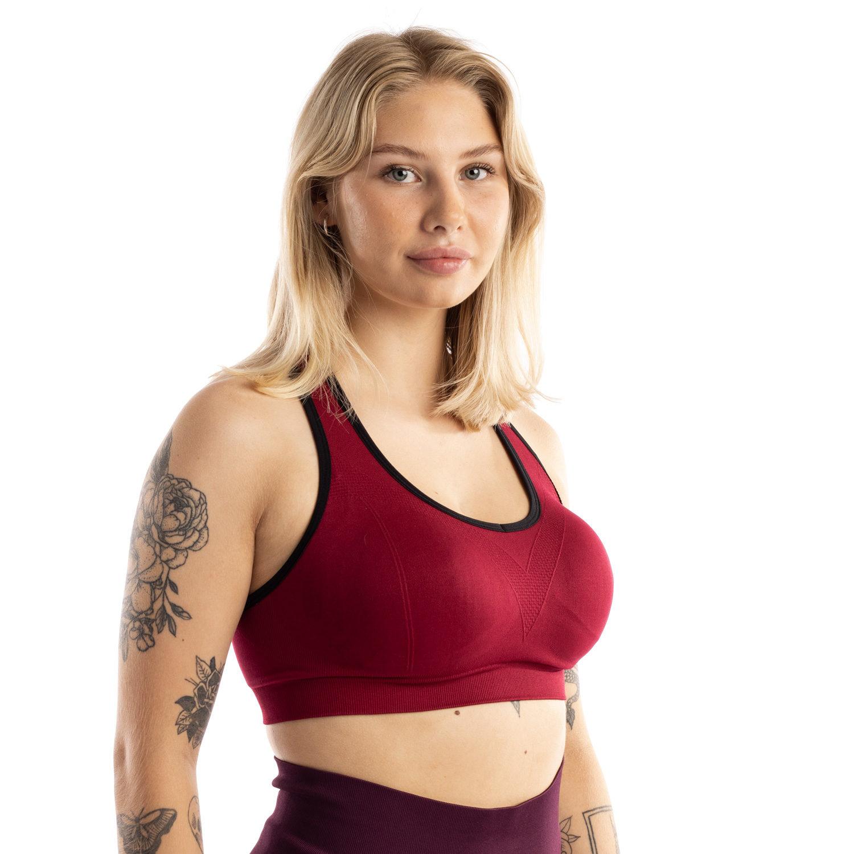 Bella Heat ultimate support urheiluliivi punainen