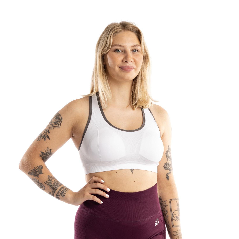 Bella Heat ultimate support urheiluliivi valkoinen